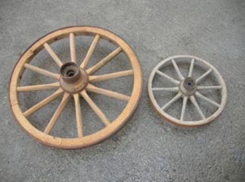Sonstige Holzrad antik