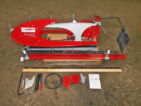 Rapid Motormäher Zubehör Compact-Eingraser