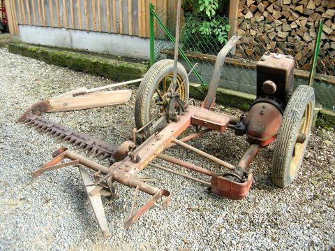 Aebi Oldtimer Motormäher MM45