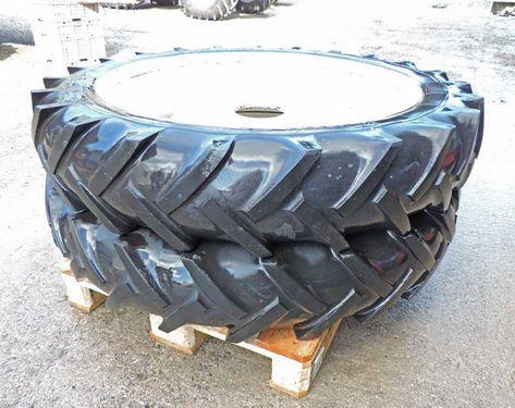 Schaad Räder Doppelrad 9.5 R 36 Paar