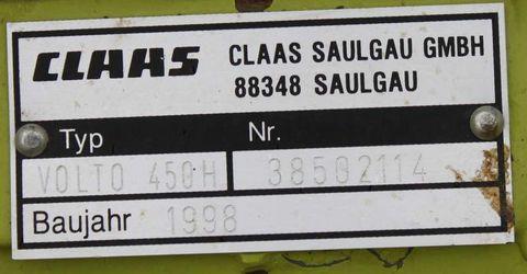 Claas Volto 450H