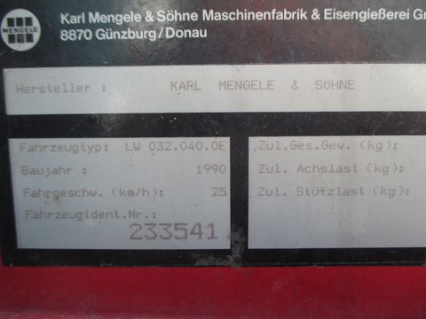 Mengele Garant 325