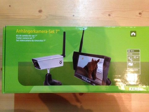 sonstige anh nger kamera mit monitor pferd. Black Bedroom Furniture Sets. Home Design Ideas