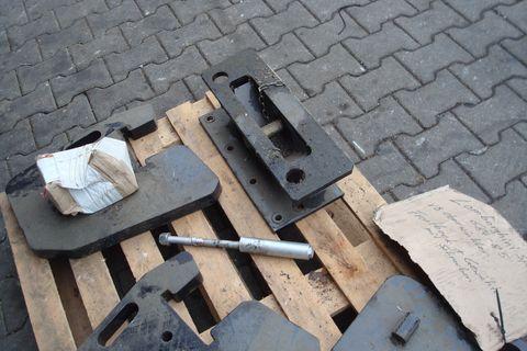 Sonstige Frontgewicht 4 Stk mit Anbaubock