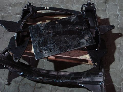 Hauer Unterzug + Pflugplatte + Konsole OR-N 400 Vario