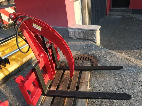 Sonstige Palettengsbel mit hydraulischem Niederhalter