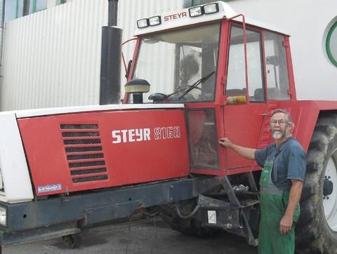 Steyr - Gebraucht - Ersatzteile für 8160 A