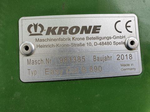 Krone Mähkombi EasyCut B890