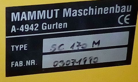 Mammut SC 170 M Silozange