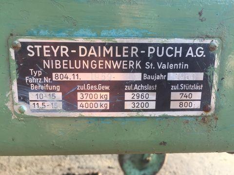 Steyr Diverse Ladewagenteile