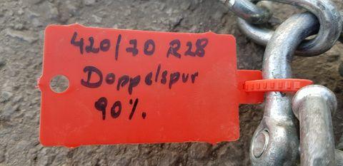 Sonstige 420/70-28 Doppelspur 8mm
