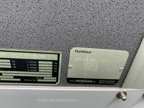 Humbaur WHDP2042