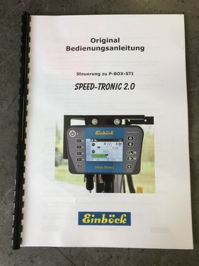 Einböck P-BOX-STI Speed-Tronic