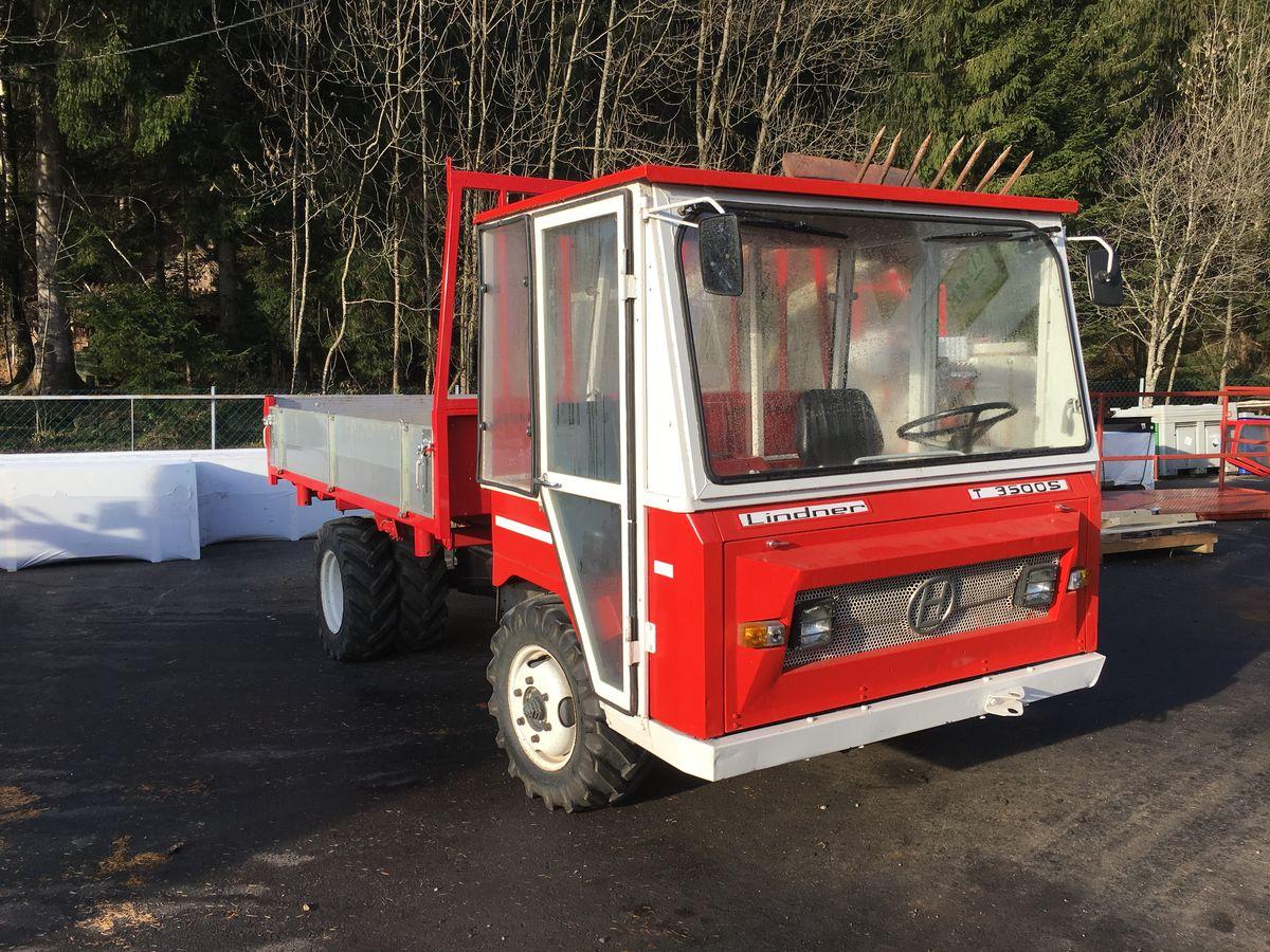 lindner transporter 3500 diesel tracteurs. Black Bedroom Furniture Sets. Home Design Ideas