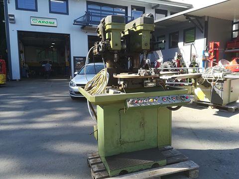 Sonstige Doppelbohrmaschine mit automatischen Drehtisch