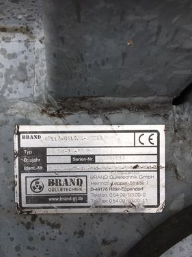 Sonstige BRAND Gülle-Gelenk-Mixer B 90-10-85 S