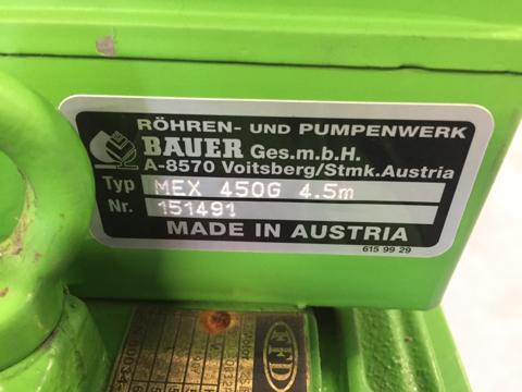 Bauer MEX 450G 4,5m