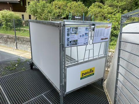 Patura Mobile Kälberbox Ausstellung
