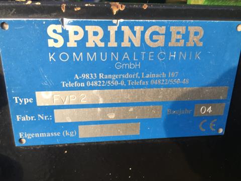 Springer Kommunal-Anbaurahmen