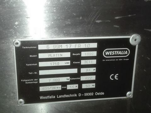 Westfalia  Platin 1710 Kühltank
