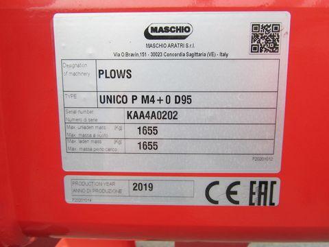 Maschio Unico Passo M4+ Volldrehpflug