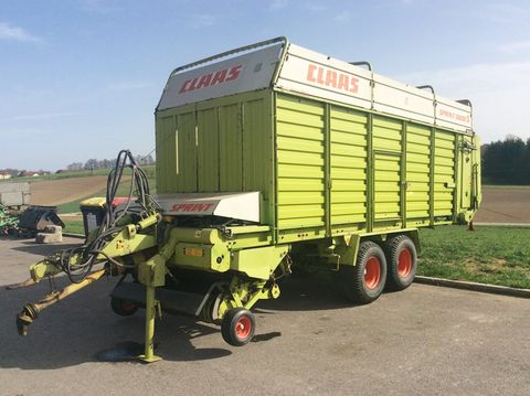 Claas Sprint 5000 S Ladewagen