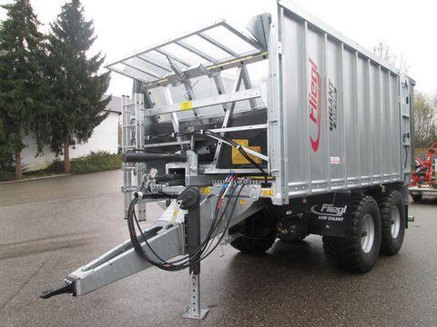 Fliegl Gigant ASW 256 Compakt Fox Abschiebewagen