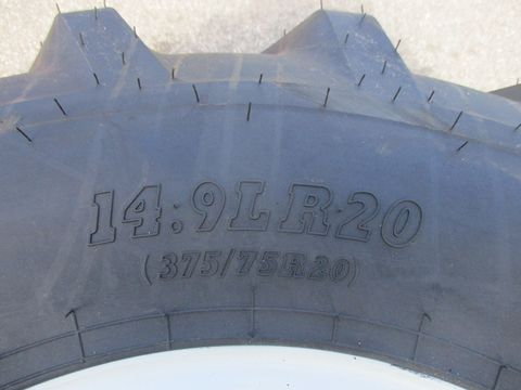 BKT 375/75 R 20 (14,9 LR 20) Räder