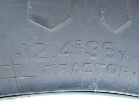 Trelleborg 12,4 R 36 TM 190 Kompletträder