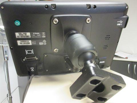 Steyr Trimble XCN-2050 Spurführsystem