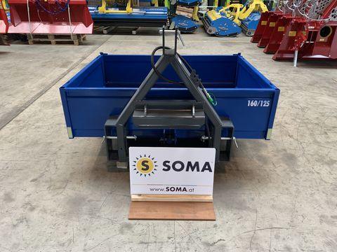 Soma Kippschaufel hydraulisch von 120 bis 220cm