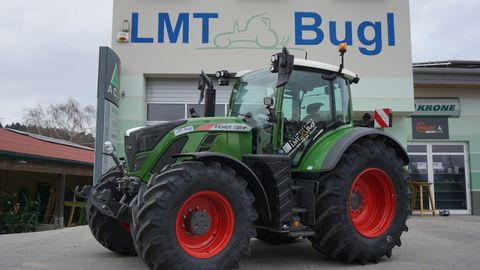 Fendt 720 Vario S4 Power-Plus mit RTK Miettraktor