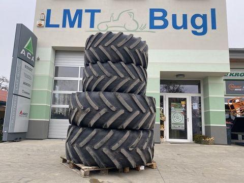 Michelin Kompletträder 650/75-R38 u. 600/65-R28