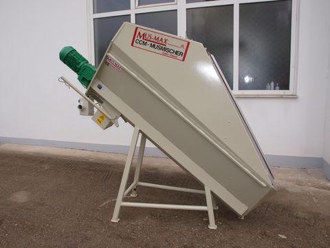 Mus Max CCM Mischer 500 kg Niro
