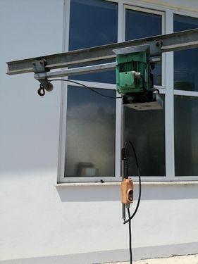Mus Max E- Aufzug mit Seilwinde
