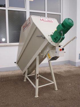 Mus Max CCM Mischer 1000 kg Edelstahl