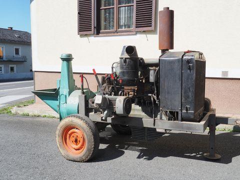 Mus Max Mus - Mühle 88 D mit Saurer Motor