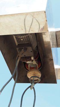 Agro E- Aufzug mit Fahrwerk