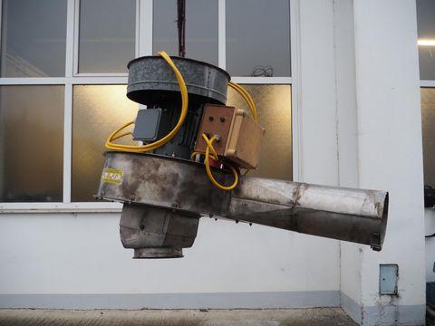 Mus Max Gebläse IV mit E- Motor 11 kW