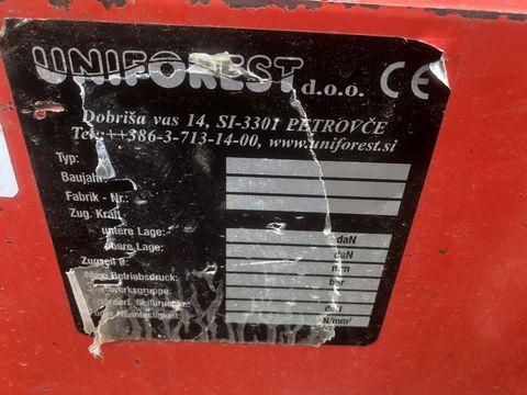Uniforest Uniforest 6 EH Forstseilwinde