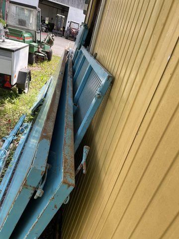 Sonstige Aufsatz, Aufbau 4,52x1,83m m. hydr. Heckklappe
