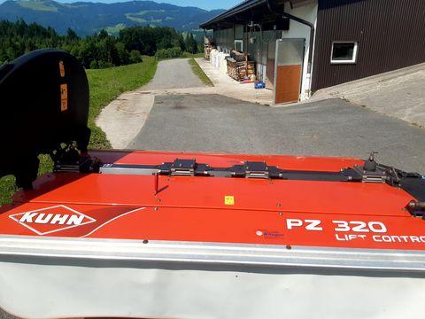 Kuhn PZ 320 Trommelmähwerk Heckanbau