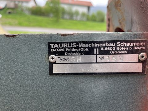 Taurus Fahrsiloverteiler SH Heck