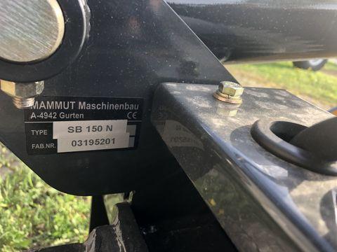 Mammut Siloschneidschaufel Silo Bucket SB 150 N