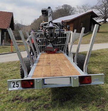 Unterreiner Forest Master RW 5, Forstkran FK 5100 EcoLine