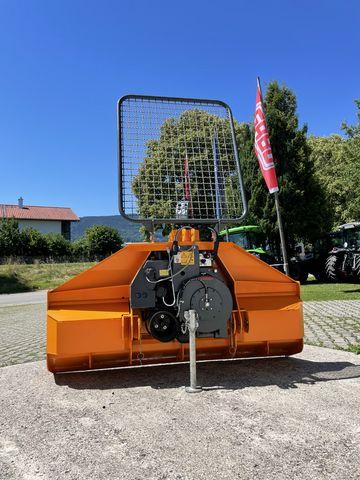 Ritter Forstseilwinde D 71 Seilausstoß/Seileinlaufbrems