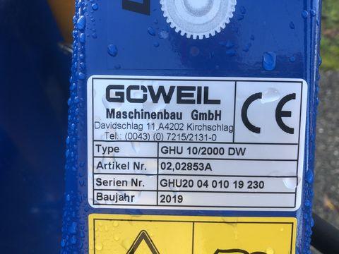 Sonstige Göweil Hochkippschaufel GHU 10/2000 DW