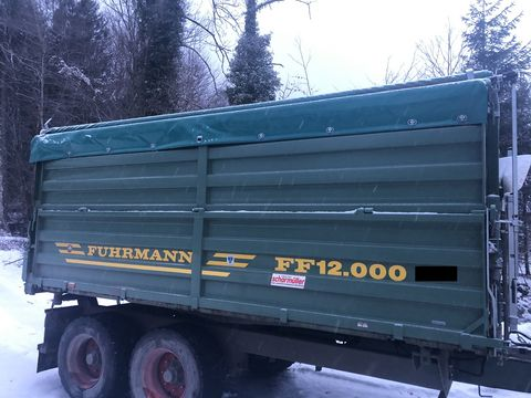 Fuhrmann FF12.000 mit hydr. Heckklappe