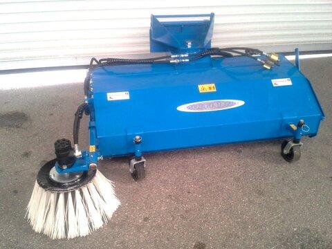 Multione Kehrmaschine 150cm mit Seitenbesen (10242)