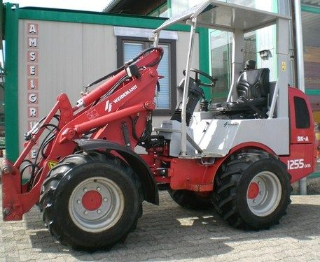 Weidemann 1255 SK-A Nur 900 Bst. Breitreifen, Hydr. Ger. V